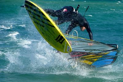 6. Baja windsurfing