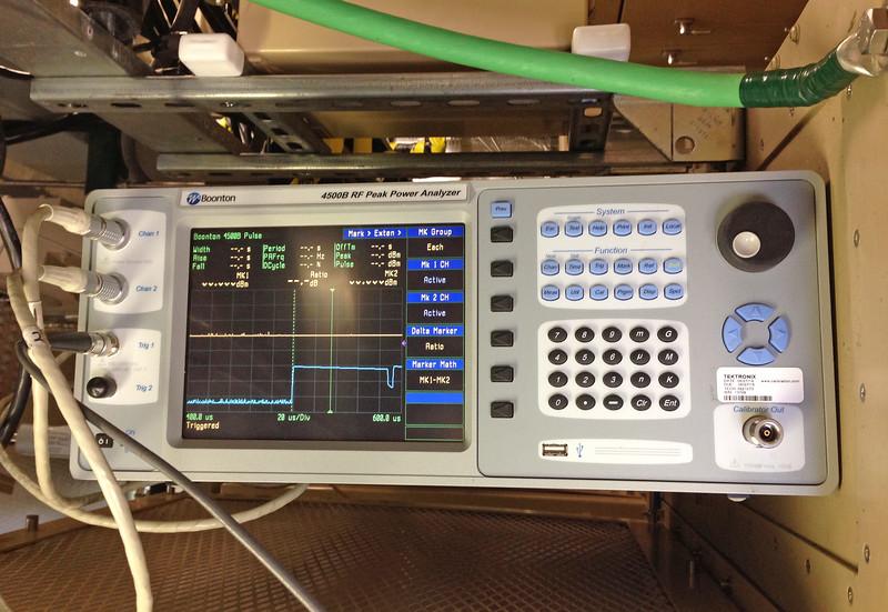 washington- joint tech inspection (JTI) at mica peak near spokane. <br>Boonton Peak Power Analyzer.<br><br>WA-mica_peak-07oct2014ip4130