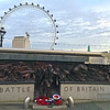 """I'm a WWII war history geek and visited several related museums during the European Christmas vacation, 2015. When Julian and I toured London, it was bonus happenstance that we discovered the Battle of Britain sculpture. The Battle of Britain Monument overlooks the River Thames (London Eye wheel in the background). It commemorates the British military personnel who took part in the Battle of Britain during the Second World War. It was the first major campaign to be fought entirely by air forces. By preventing Germany from gaining air superiority, the British forced Hitler to cancel a planned amphibious and airborne invasion of Britain.<br>""""Upon this battle depends the survival of Christian civilization…if we fail, then the whole world, including the United States, will sink into the abyss of a new Dark Age. Let us therefore brace ourselves to our duties, and so bear ourselves that, if the British Empire and its Commonwealth last for a thousand years, men will still say, 'This was their finest hour'"""" -Sir Winston Churchill — at Battle of Britain Monument, London.<br><br>england_london-19dec2015i3107"""