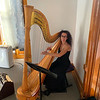 Harpist Emilia Pepen of Maine