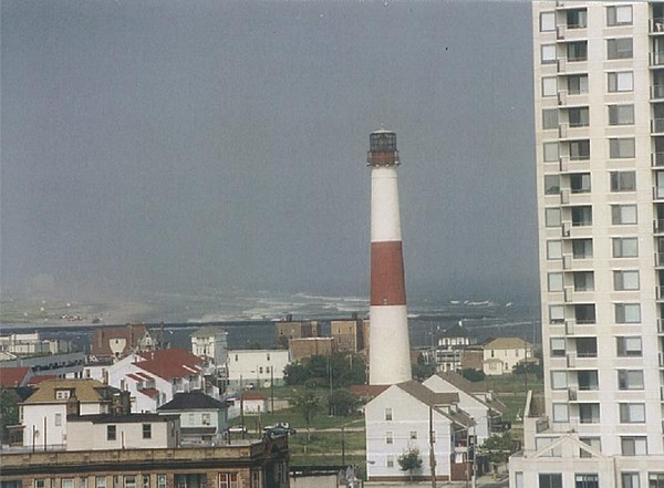 "<b>At some point in its history, the lighthouse was painted red.  However, the original lighthouse was black and white.</b>  When the 171-foot tall <a href=""http://www.abseconlighthouse.org"">Absecon Lighthouse<a/> was first lit in 1857, it played a crucial role in guiding ships on the Atlantic seaboard away from potential wrecks. It also became a popular tourist attraction; by the early 1900s the Absecon Lighthouse was the most visited lighthouse in America. Although the lighthouse was decommissioned in the 1930s, it was operated as a historic site until 1993. In 1994, the Inlet Public-Private Association (IPPA) began a campaign to save the lighthouse from further deterioration. In the late 1990s, the IPPA secured two TE awards to begin lighthouse restoration and raised matching funds with contributions from the Casino Reinvestment Development Authority and New Jersey Historic Trust. During the restoration effort, the Lighthouse's lead paint was removed, its masonry was restored and repainted, and historically accurate windows, doors, and lighting were replicated and installed. The Absecon Lighthouse reopened in 1999 as a centerpiece to a city park. The IPPA estimates over 70,000 visitors and students to Absecon Lighthouse each year."