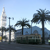 "Mature palm trees, refurbished historic street cars, and period lighting contribute to the unique sense of place created by the Ferry Building.  The <a href=""http://www.ferrybuildingmarketplace.com/"">Ferry Building</a>, built in 1898, has survived two major earthquakes and is listed in the National Register of Historic Places. Though it is now a major inter-modal transportation center and mixed-use complex, it has not always been so. Until the opening of the Bay and Golden Gate Bridges in 1936 and 1937, respectively, the Ferry Building was the focal point of ferry and rail transportation. When auto travel became the dominant mode for traveling across the Bay, the Ferry Building became obsolete and was transformed into primarily office use. To make matters worse, the elevated Embarcadero Freeway was built directly in front of the building in 1957 cutting the building off from the rest of downtown. The 1989 Loma Prieta Earthquake instigated the redevelopment of the Embarcadero and the Ferry Building when it destroyed part of the elevated freeway.    Two TE awards, procured in 1995 and 1998, were used to complete the Ferry Building Rehabilitation project. In total, State TE funding amounted to $2 million and generated a total local match of $2,201,000. Today, visitors and commuters from East Bay and Marin County can connect to downtown San Francisco via passenger ferries, light rail, the subway system, historic streetcars, cable cars, and buses. In addition, the Ferry Building is now truly mixed-use with retail shops, restaurants, food markets, conference center, and office space fill its historic space."