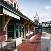"<b>Photos courtesy of Blitch-Knevel Architects, Inc.</b>  A $1 million TE award in 1993 helped fund the relocation and renovation of the historic Lafayette Depot and the refurbishment of the Main Street Bridge for use as a bicycle and pedestrian path. The 1902 depot was moved three blocks from its original location in order to better serve the community. It is used by Amtrak, the local transportation service, and contains a bank branch, a railroad historical society as well as the Downtown Business Center. The Depot Plaza is a popular venue for many events and festivals. The Main Street Bridge connects the cities of Lafayette and West Lafayette and provides access from the depot to the <a href=""http://www.tippecanoe.in.gov/parks/division.asp?fDD=17-66"">Wabash River Heritage Trail.</a>"