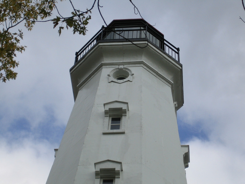 The North Point Lighthouse, the first in Milwaukee, was constructed in 1855. The tower was 28 feet tall, putting the beam from the lighthouse at 107 feet above the water, the highest on the Great Lakes at the time. By the 1870's, however, the area had become severely eroded and after receiving $15,000 from Congress the lighthouse was moved to its present location 100 feet inland. In the 1890's the area around the lighthouse was made into a waterfront park designed by none other than Fredrick Law Olmstead, who also designed Grand Central Park in New York.<br /> <br /> The lighthouse was not decommissioned until 1994, and immediately afterward plans were made to restore the lighthouse and keeper's quarters. Milwaukee County acquired the site for historic preservation and park purposes, and in 2002 the North Point Lighthouse Friends, with Milwaukee County as sponsor, applied for TE funding to help with restoration costs. TE supplied $984,000 and the North Point Lighthouse Friends raised an additional $246,000 for a total of $1,230,000 to restore the lighthouse tower and keeper's quarters.