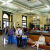 "<a href=""http://www.tampaunionstation.com/"">Photos courtesy of Friends of Tampa Union Station</a>  <b>The interior of Tampa Union Station in 2008.</b>  In 1912, three railroad companies contributed to the building of one central rail station, Tampa's Union Station. The Italian Renaissance Revival style station was listed on the National Register in 1974. Time took its toll on the Italian Renaissance Revival style building and it closed in 1984. In 1987, the nonprofit Tampa Union Station Preservation & Redevelopment, Inc. (TUSPR) formed in effort to save the station from demolition. With help from the City of Tampa and other preservation organizations, TUSPR bought the station form CSX Realty in 1991. Feasibility studies determined that the renovated station could be a success if it was developed into a multi-modal transportation facility. Enhancements funds helped pay for the restoration of the building, including new plumbing, wiring, and ADA codes and requirements. The renovated station has reestablished <a href=""http://www.amtrak.com/servlet/ContentServer?c=AM_Route_C&pagename=am%2FLayout&cid=1237608339450"">Amtrak service</a>--which had originally operated in the station-- as well as bus, taxi, and trolley service. The TE funded restoration of Union Station has spurred redevelopment in surrounding areas, including plans for future Enhancements projects."