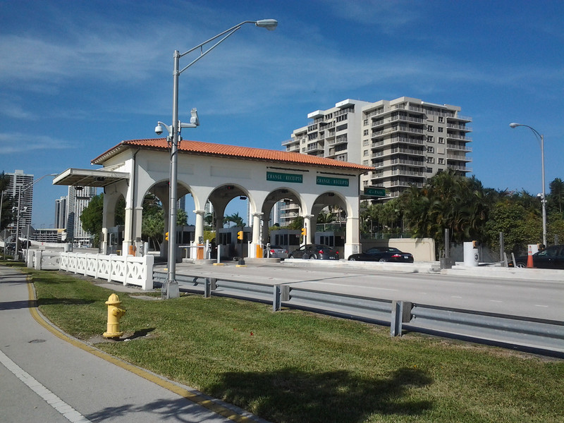 """Photo Credit: Tracy Loh   In 1926 the Venetian Causeway was conceived as a way to connect mainland Miami with the south end of Miami Beach through six uninhabited islands. As the population of Miami Beach and the Islands increased, the <a href=""""http://www.dot.state.fl.us"""">Florida Department of Transportation</a> saw the need to construct a new bridge in place of the Causeway, which is on the National Register of Historic Places. Local citizens fought hard to preserve the Art Deco Bridge and eventually partnered with FDOT.   Over the past 20 years 7 Transportation Enhancements (TE) projects have helped to restore and rehabilitate the Causeway. The <a href=""""https://www.bigtent.com/groups/vcna"""">Venetian Causeway Neighborhood Alliance</a> and FDOT worked together throughout the project to ensure it meet the community's desires, FDOT even designated a Citizen Liaison. In 2003 the first round of projects helped to replace failed concrete segments and install period lighting fixtures. The good relationship established with the community helped ease tensions when delays were incurred. Later, in 2009 several other enhancements were added to the bridge and surrounding areas. Transportation Enhancement funding has helped to rehabilitate and preserve the historic bridge for future generations as well as make it more bicycle and pedestrian friendly."""