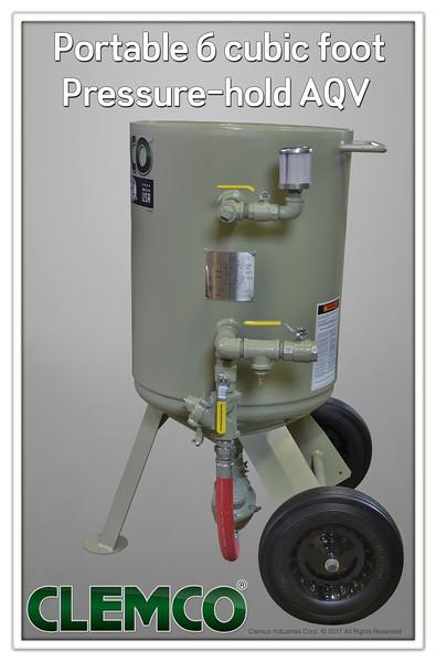 6 cuft Classic Blast Machine with Pressure-hold AQV
