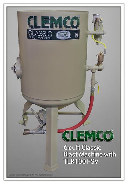 6 cuft Classic Blast Machine with TLR100, FSV