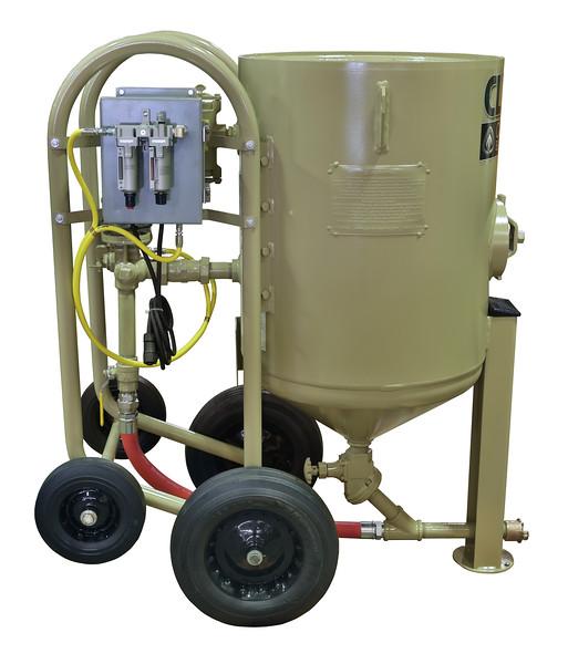6ft³ Contractor Blast Machine 12 volt