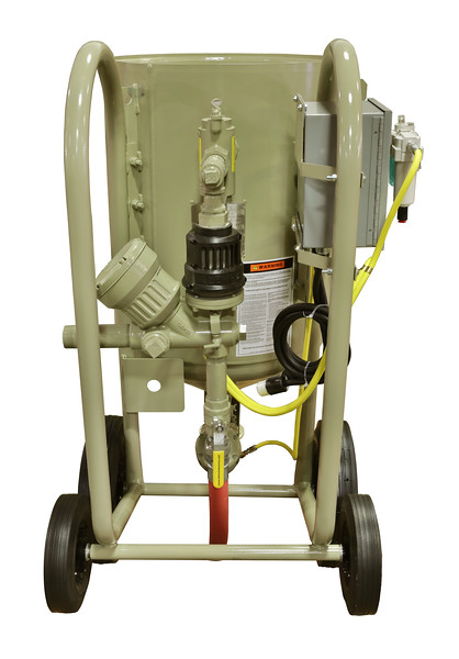 6ft³ Contractor Blast Machine 12 volt ACS