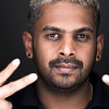 60 Second Portrair of Photographer Calvin Chinthaka by Simon Ellingworth at Amersham Studios