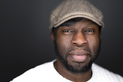 60 Second Protrait of Photographer Gus Nwanya by Simon ELlingworth at Amersham Studios