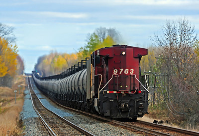 Canadian Pacific #608 DPU, CP Winchester Subdivision, October 29 2013