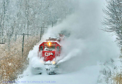 Canadian Pacific #609 St-Catherine Qc