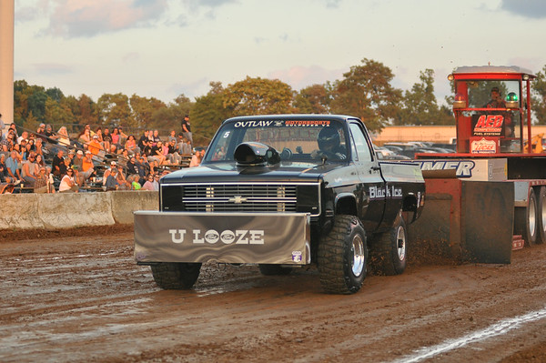 "60th Annual Clarke County Fair ""Dragon Motorsports Truck Pull"" 8-13-14"