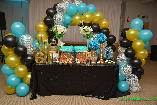 Charlene's 60 & Fabulous Birthday Party @ The Event Center 6.10.17