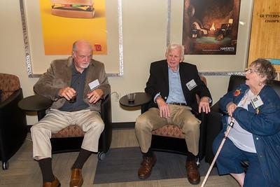 Pat O'Connor '55, Ken Lambert, Barbara Bailey Herrin