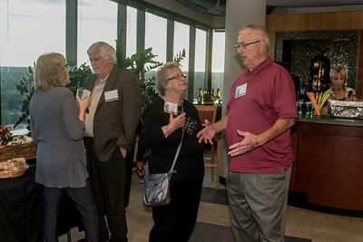 Phyllis Aaron, Doug Scroggs '54, Marilyn Wright Scroggs, Terry Huston