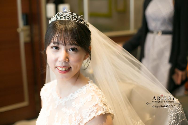 白紗黑髮新娘造型,韓國長頭紗,新娘秘書,台北新秘,ariesy,新秘