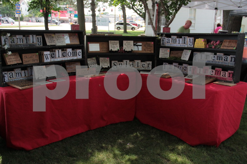 Booth at Festival in the Park