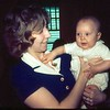 2-'74-With Mommy Peggy