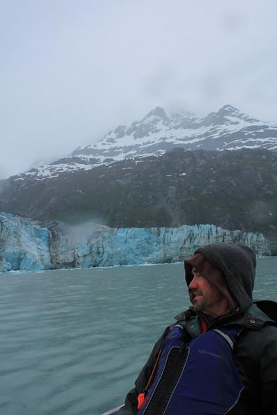 Captain Hans Brunning at Reid Glacier, AK