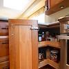 Corner cabinet storage units