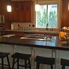 Kitchen Island and cooking range