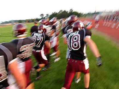 HHS Varsity Football vs Knoxville Videos