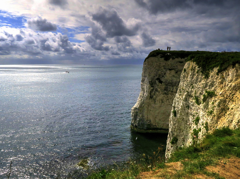 The view west from Handfast Point (Old Harry Rocks)