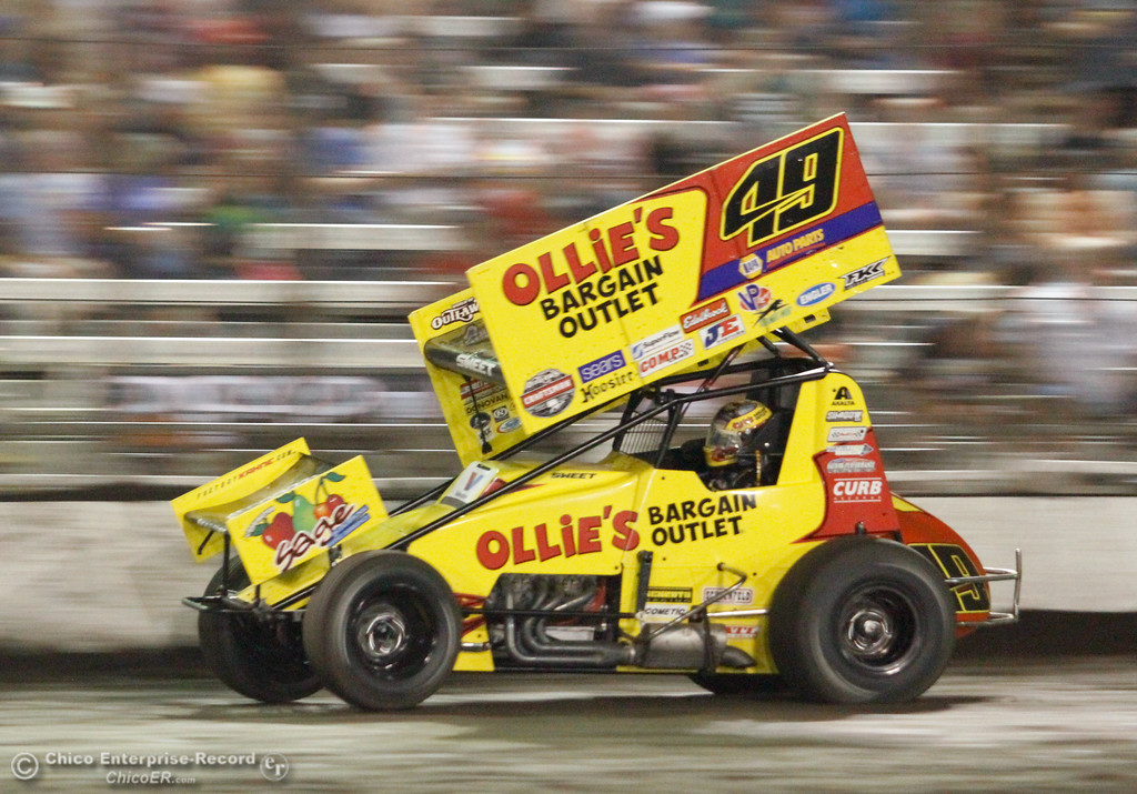 . The final night of the 64th annual Gold Cup Race of Champions Saturday September 9, 2017 at the Silver Dollar Speedway in Chico, California. (Emily Bertolino -- Enterprise-Record)