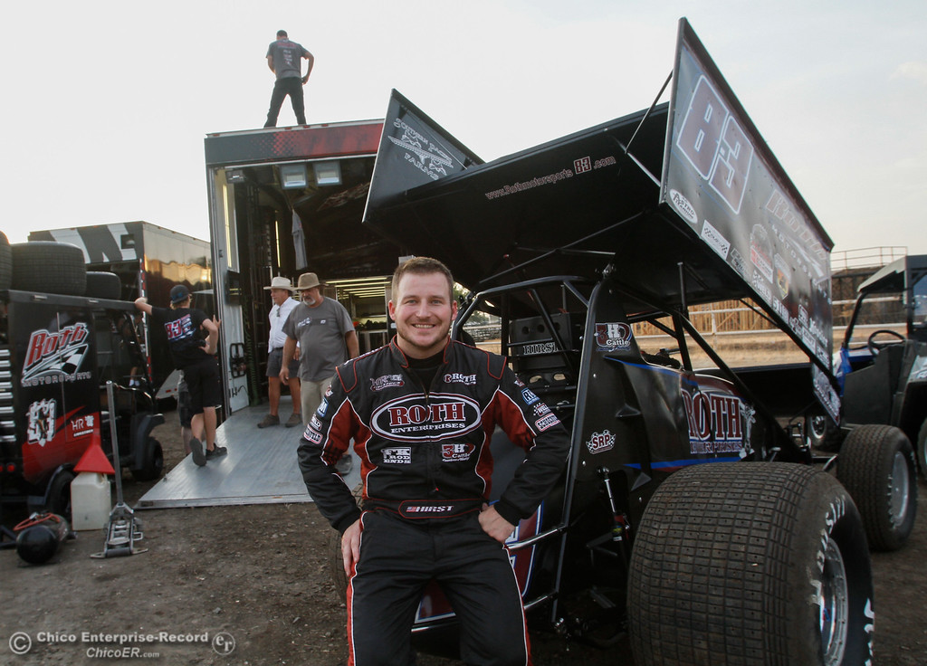 . Day one of the 64th annual Gold Cup Race of Champions featuring the Civil War Series Wednesday September 6, 2017 at the Silver Dollar Speedway in Chico, California. (Emily Bertolino -- Enterprise-Record)