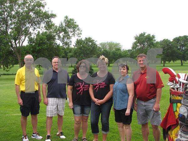 Steve Tucker, Kevin Black, Kristi Castenson, Kelly Black, Sybil Bauer, Vance Bauer