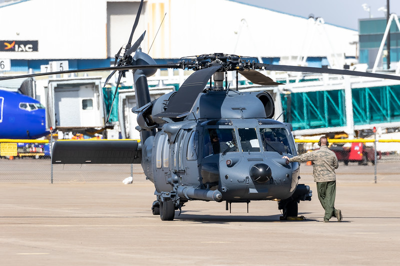-(Aircraft) Sikorsky HH-60G Pave Hawk<br /> -(Nation & Service) United States Air Force<br /> -(Squadron) 66th Rescue Squadron <br /> -(Home Base) Nellis Air Force Base, Nevada