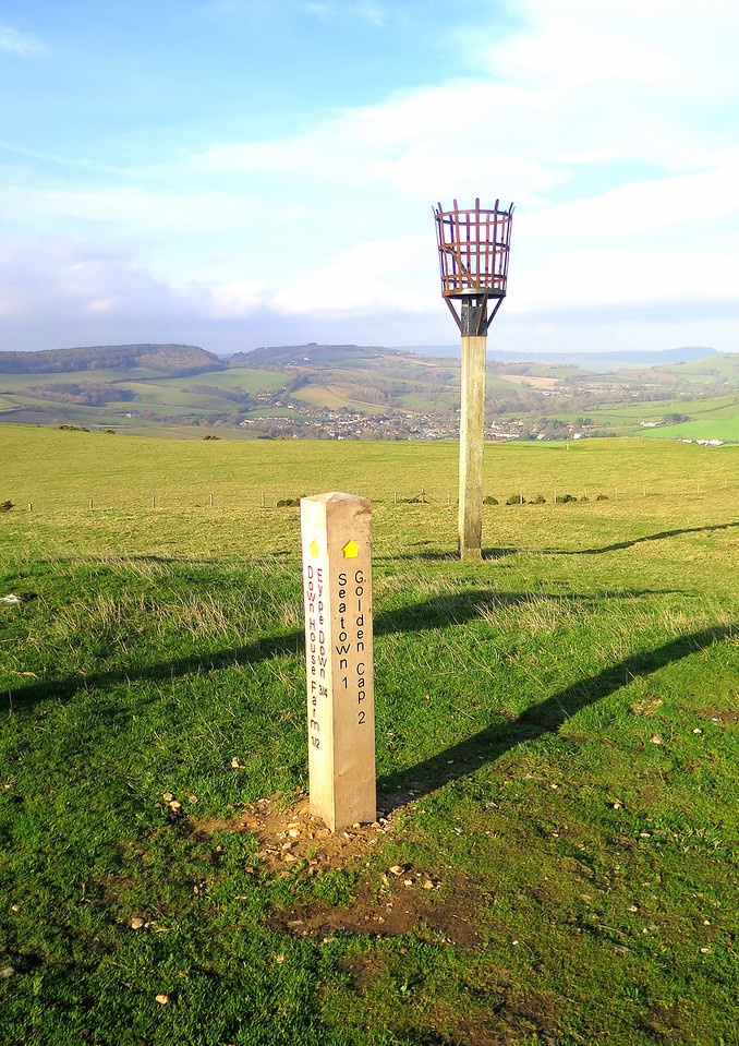 The Beacon on Thorncombe Hill