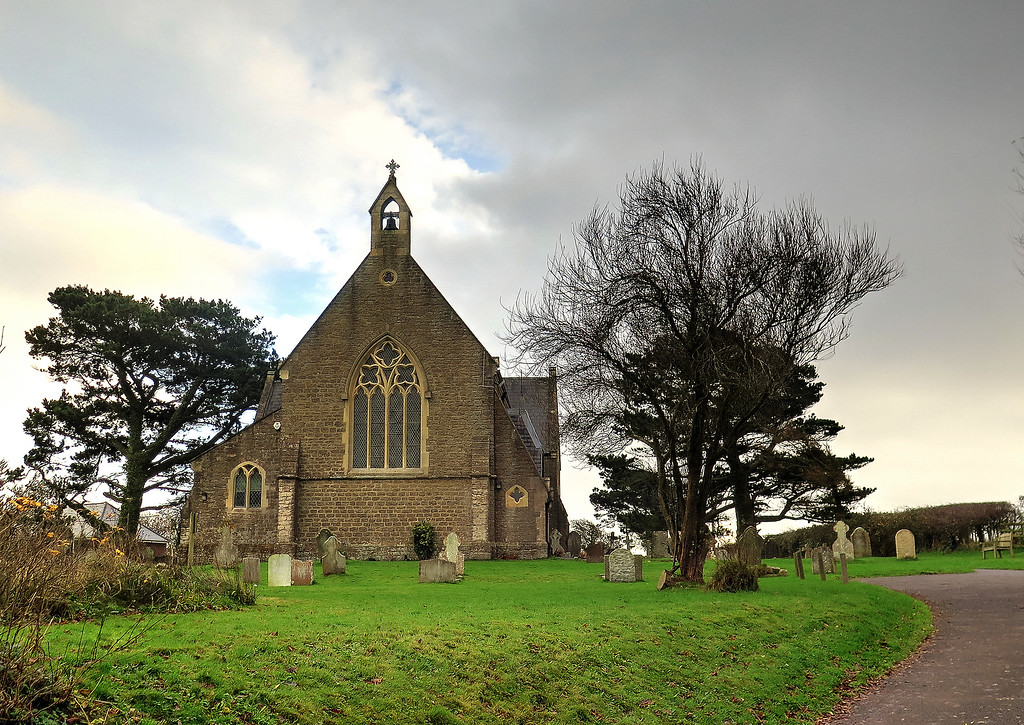 Eype Church used in the tv series Broadchurch