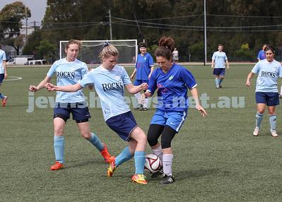 7-9-14 Maccabi Sydney Soccer Women vs Lokomotiv Cove