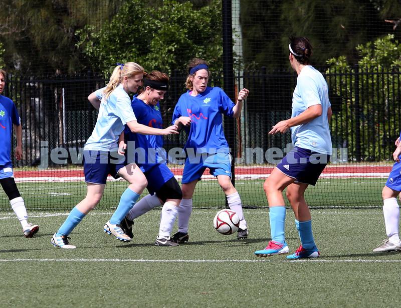 Maccabi Soccer Womens Div 4 vs Lokomotiv Cove