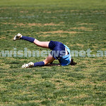 7-9-14. North Caulfield Junior Football Club Girls U 13/14 Gold lost to ladder leaders Ashburton United 0 - 2 at Duncan Mackinnon Reserve. Photo: Peter Haskin