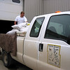 Each spring, county roadside managers travel to the IRVM Program Office to pick up TA-funded, native seed for planting in rights-of-way. The Program Office purchases the seed from local producers.<br /> <br /> Iowa's Integrated Roadside Vegetation Management (IRVM) Program Office has been awarded FHWA funding to purchase native prairie seed for use in county rights-of-way since 1998. Approximately 1000 roadside acres have been planted each year. These plantings are well-adapted for use on roadsides, providing weed and erosion control, storm water management, and habitat corridors. The IRVM Program Office is located at the University of Northern Iowa's Tallgrass Prairie Center.