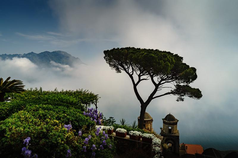 Mist over Ravello