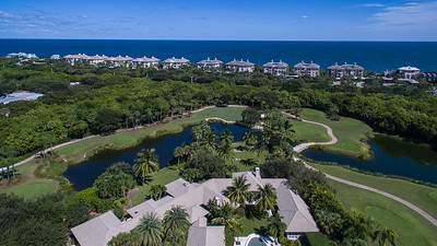 Orchid Island Golf and Beach Stock Aerials - 12