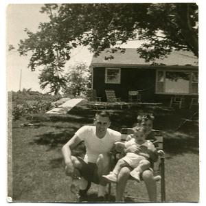 1962-06 Jack, Jackie, Donald ('Aunt Louis')