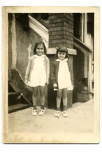 1944 Gertrude & JoAnn 1240 Adams in Gary 1