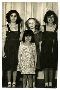 1950 Est Aragon Girls Three