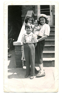 1951 Est Gertrude, JoAnn, Paul