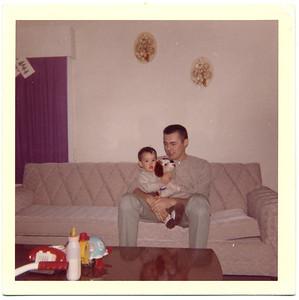1962 Jack & Jackie at 6 months 1