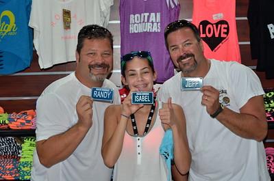 03-21-16 Day 3 Cruise Roatan, Honduras