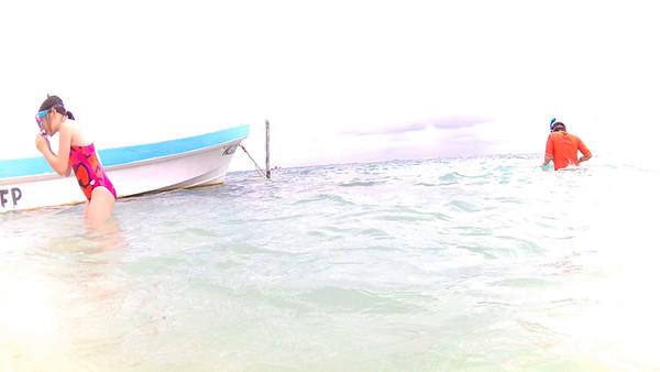 03-23-16 Day 5 Cruise Costa Maya Beach Day (Videos)