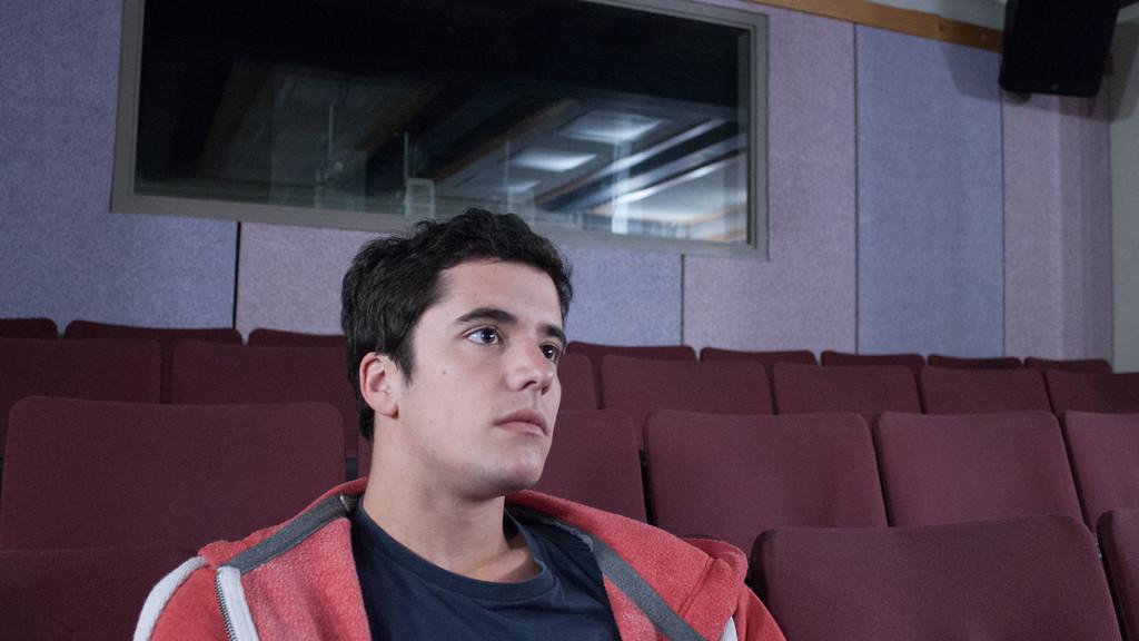 Emilio Photo Shoot, COM Auditorium, Sept. 2015